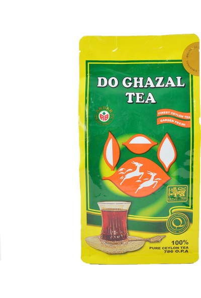 Do Ghazal Pure Ceylon Tea 400 gr x 2