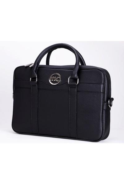 Marie Claire Siyah Kadın Laptop Tablet Çantası Fleur MC21211324