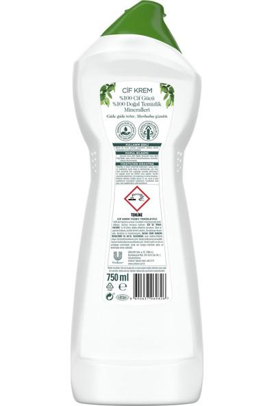 Cif Krem Amonyak 750 ml x 3 Copack