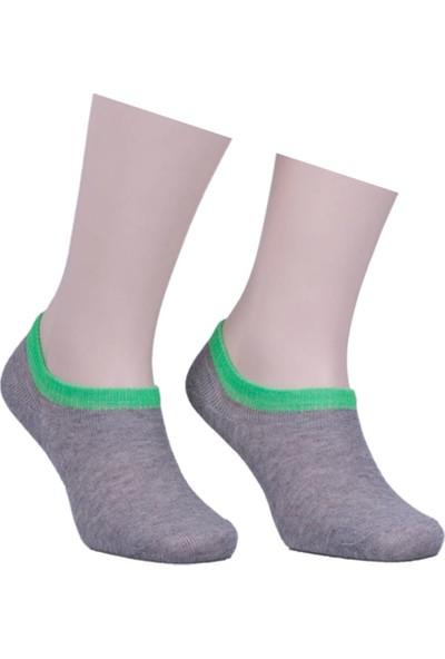 Sahab Bileği Renkli Soket Çorap 1540 | Yeşil