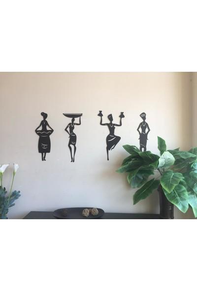 St Design Afrikalı Kadınlar Tablo Seti DD111