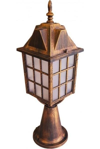 Alfa LED Akviva Kafesli Fener Set Üstü Sarı Eskitme