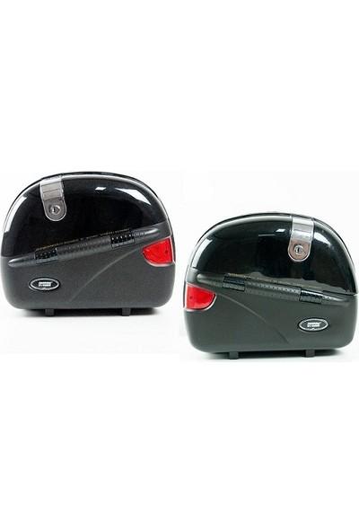 Smk Motosiklet Yan Çanta Cruiser Takım + Çanta Demiri- Siyah