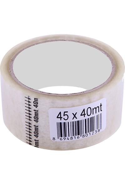 Omak Şeffaf Clear Box Tape Koli Bandı 45 mm x 40 M 50'li