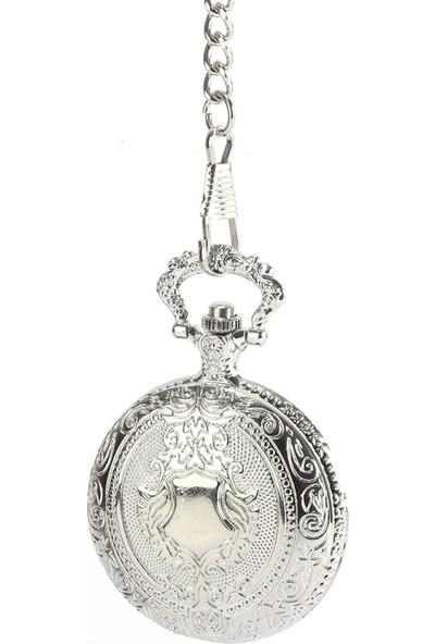Pierre Rucci Desenli Kapaklı Cep Saati