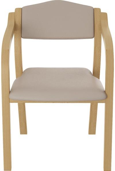Boss Ahşap Ayaklı Çalışma Sandalyesi