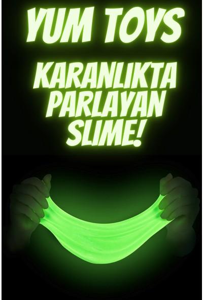 Yum Toys Karanlıkta Parlayan Slime Glow In The Dark 1 Adet Neon Yeşil