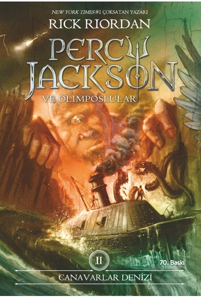 Percy Jackson - Canavarlar Denizi (2.Kitap) - Rick Riordan
