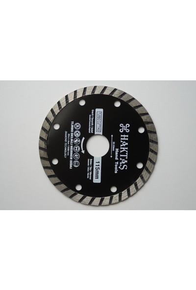 Haktaş Turbo Delikli Mermer Diski 115 mm