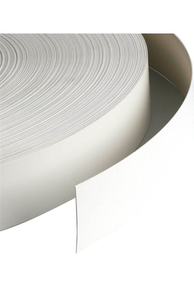 Roma 1001 Gb Bute Yüzey Mat Beyaz 0.40*22 mm / 300 mt Pvc Kenarbandı