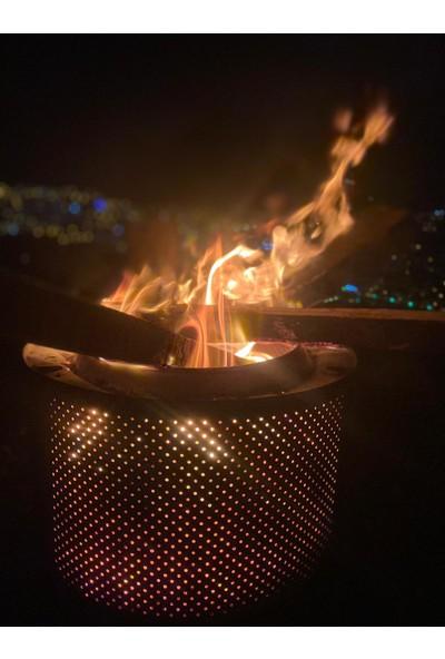 Karadağ Bahçe Şöminesi Ateş Çukuru Esnetik ve Şık Mekanlarınız Için Mangal Bahçe Sobası