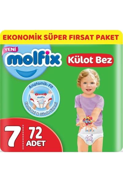 Molfix Külot Bebek Bezi Beden:7 (19+Kg) Xx Large 72 Adet Ekonomik Süper Fırsat Paketi