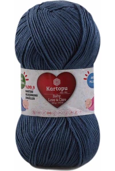 Kartopu Baby Love & Care El Örgü Ipi 100 Gr.   K1533