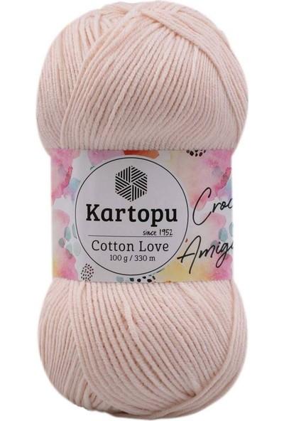 Kartopu Cotton Love El Örgü Ipi 100 gr   K793