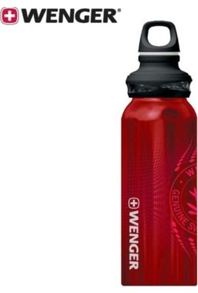 Wenger Drinking Bottle 0.65L Red Shiny