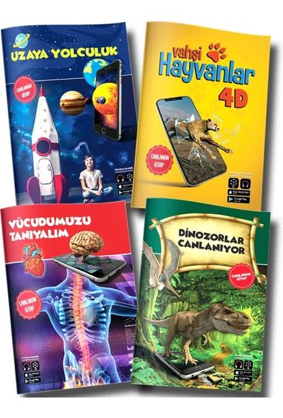 Artge Kids Yayınları 4d Canlanan Kitaplar Seti