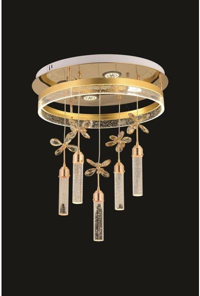 Trendylight Serena Tekli Gold LED Avize