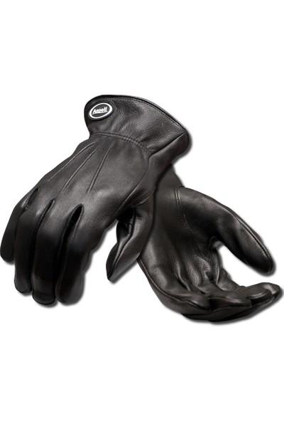 Ansell 97-978 Projex Driver Quality Black Leather Deerskin Koruyucu Eldiven No:9