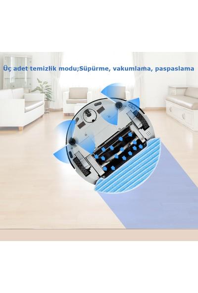 KM-1818 Sımtech Robot Süpürge ve Mop Temizleyici