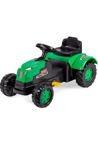 Jusso Pedallı Traktör - Yeşil