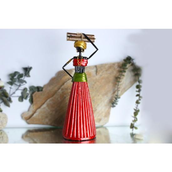 Adamodart Afrikalı Kadın Biblo 25 cm