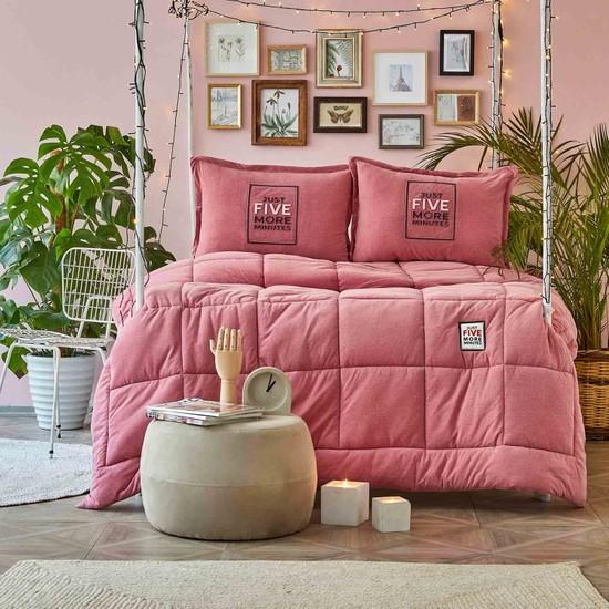Karaca Home Toffee Pudra Tek Kişilik Cotton Comfort Set