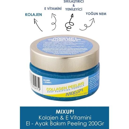 Mixup Collagen Sıkılaştırıcı ve Yenileyici El Ayak Peeling 200 gr