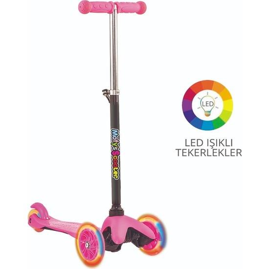 Mofy's Twister Işıklı 3 Tekerlekli Yükseklik Ayarlı Kaymaz Taban Mini Scooter