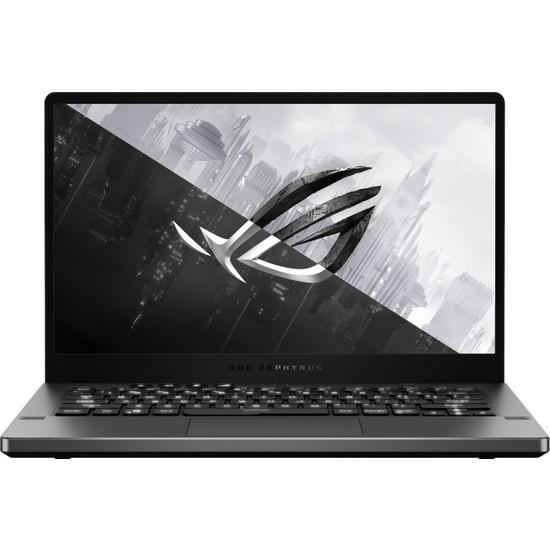 "Asus ROG Zephyrus G14 GA401QH-HZ018 AMD Ryzen 7 5800HS 8GB 512GB SSD GTX 1650 Freedos 14"" FHD Taşınabilir Bilgisayar"