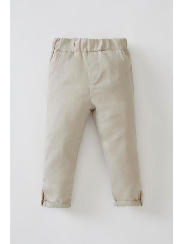 DeFacto Erkek Bebek Esnek Belli Pantolon
