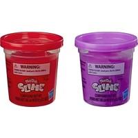 Play-Doh Slime 2'li Hamur Metalik Kırmızı + Metalik Mor