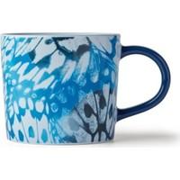 Starbucks Kelebek Tasarımlı Mavi Kupa 355 ml.
