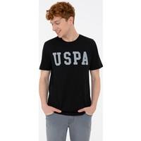 U.S. Polo Assn. Siyah T-Shirt Basic 50232300-Vr046