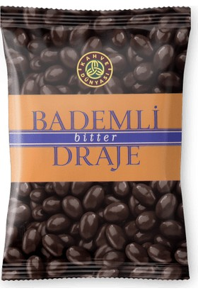 Kahve Dünyası Bademli Draje Bitter Çikolatalı 200 gr