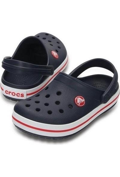 Crocs Crocband Clog K Lacivert-Kırmızı Çocuk Terlik