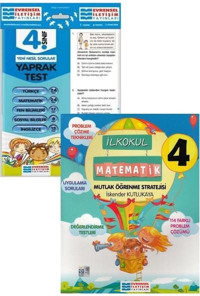 Evrensel Yayınları 4. Sınıf Matematik ve Tüm Dersler Yaprak Test Seti