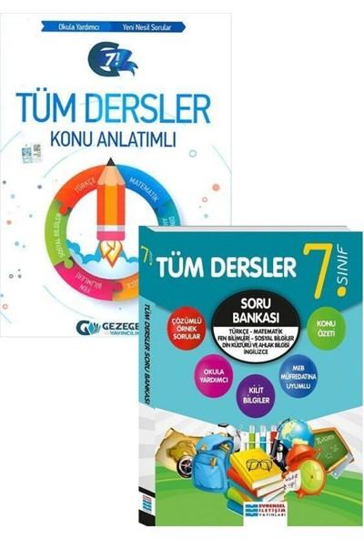 Evrensel Yayınları 7. Sınıf Tüm Dersler Konu Anlatımı ve Soru Bankası Seti