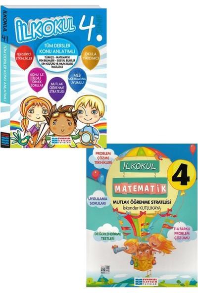 Evrensel Yayınları 4. Sınıf Tüm Dersler Konu Anlatımı ve Matematik Mutlak Öğrenme Seti