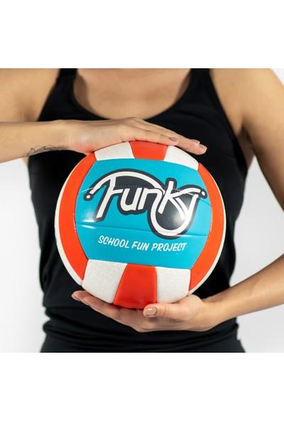 USR Funky 5 No Voleybol Topu Turuncu