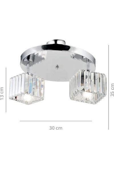 Homing Kristal Cam Avize 2'li AYD-2717