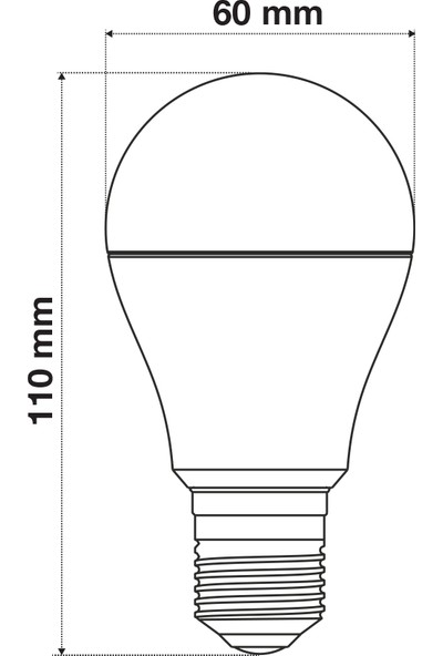 Wondeks 7W Renkli LED Ampul (Yeşil)