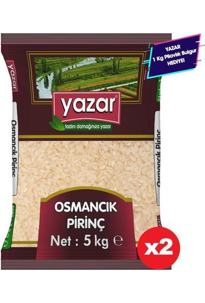 Yazar Osmancık Baldo Pirinç Yerli 5KG*2=10KG-YAZAR Bakliyat