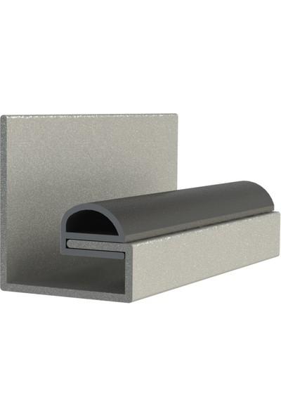 Contacall Çelik Kapı Fitili Geçmeli Kapı Altı Eşik Fitili Geçmeli 5 M x 10 x 13 mm
