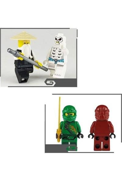 Legoedlyy Ninjago 8 Li Mini Figür Set Skyblue Süper
