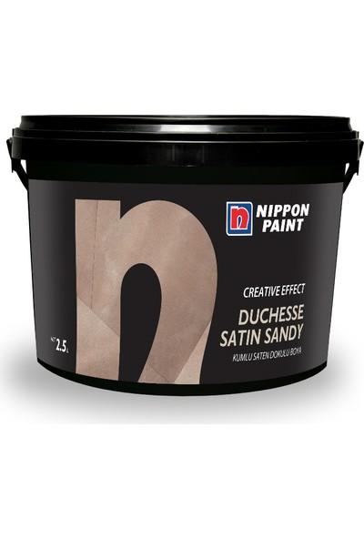 Nippon Duchesse Satın Sandy Kumlu Saten Doku Efekt Boya 2.5 Lt