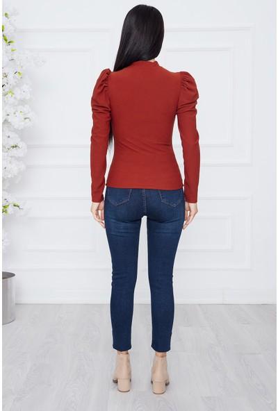 Kalopya Kadın Omuz Büzgülü FWM01 Bluz