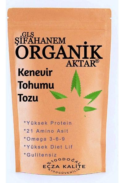GLŞ Şifahanem Organik Aktar Kenevir Tohumu Öğütülmüş 250 gr