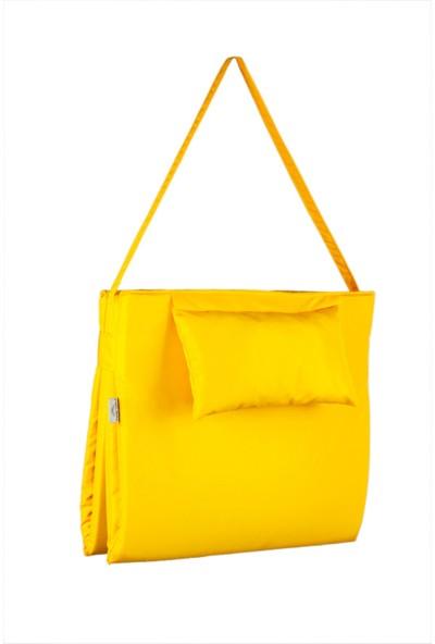 Büro Trend Trendy Sunbed Sarı Plaj & Kamp Minderi