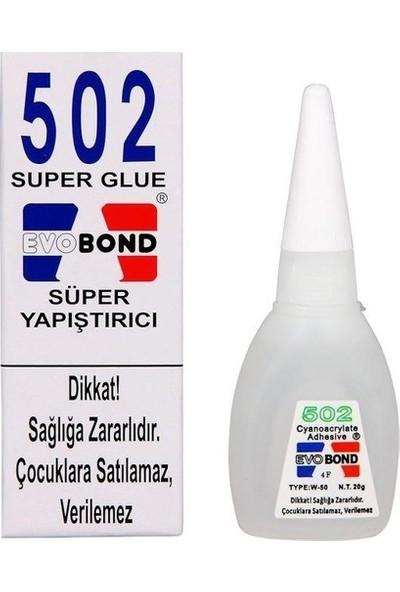 Evobond Orijinal 502 Süper Japon Yapıştırıcısı 20 gr