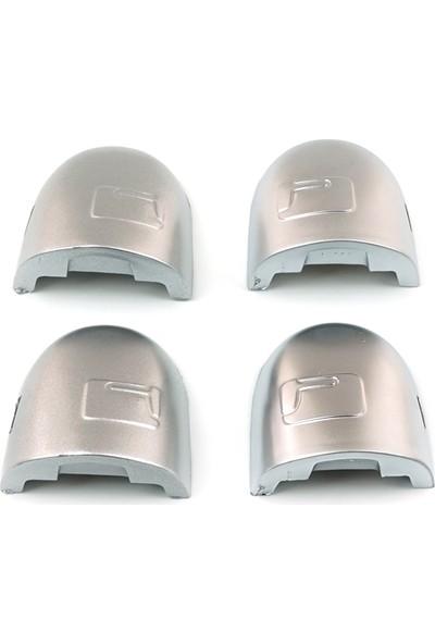 Sav Otomotiv Renault Gümüş Dış Kapı Kolu (Sağ - Sol) 4 Adet